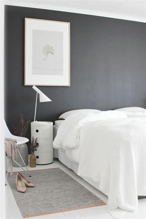 deco chambre adulte blanc chambre moderne noir et blanc