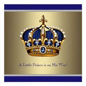 gold and blue logo | Blue Gold Crown Little Prince Boy ...