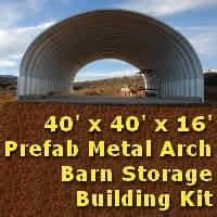 2539 x 4039 x 1639 prefab metal barn garage storage building kit for 40 x 40 metal building kit