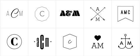 gratis  monogram makers logaster