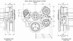 Chevy Small Block Victory Series Kit With Alternator And