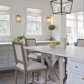 eat in kitchen islands blue gray kitchen cabinets transitional kitchen