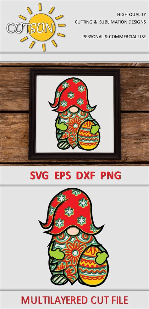 Do you want to make a personalized icon pack? Layered Gnome Mandala Svg Free For Crafters - Layered SVG ...