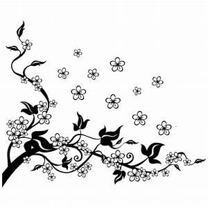 Dessin Fleur De Cerisier Japonais Noir Et Blanc : tatouage dessin fleur noir et blanc kolorisse developpement ~ Melissatoandfro.com Idées de Décoration