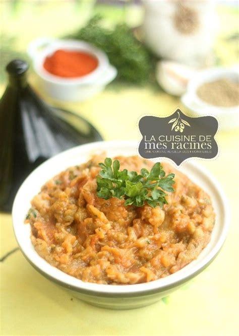 de cuisine orientale zaalouk recette marocaine cuisine orientale