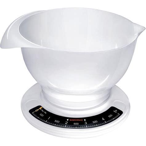 balance cuisine soehnle balance de cuisine analogique avec récipient de mesure