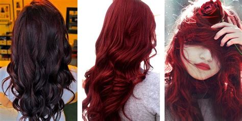 popular red hair color shades matrix