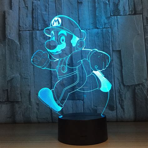 novelty lighting super mario bro table desk l touch