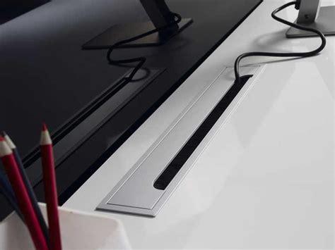 passe c稈le bureau cache cable pour bureau 60mm cache table bureau c ble trou surface cover fil pour bureau ordinateur techflex gaine cache c bles pour studio