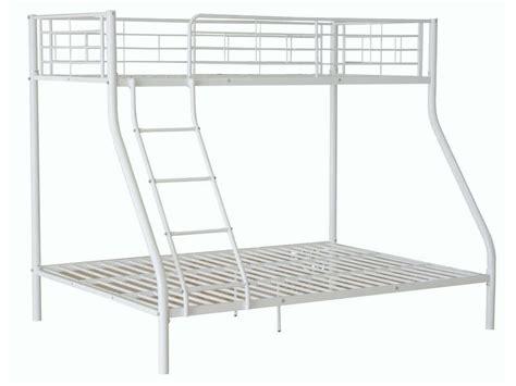 lits superpos 233 s 140 et 90x190 cm ole coloris blanc vente de lit enfant conforama