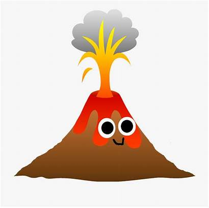 Volcano Hawaii Cartoon Transparent Netclipart