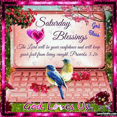 Saturday Religious Morning Happy Quotes Blessings Gifs