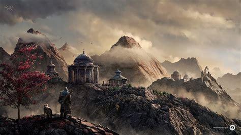 fantasy Art, Warrior, Archer, Archers, Building, Mountain ...