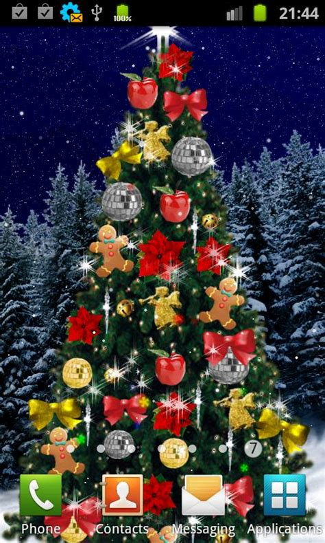 beautiful christmas live wallpapers for android