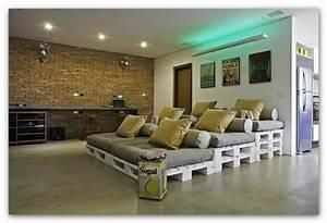 Lounge Aus Paletten : idee per mobili fai da te ~ Frokenaadalensverden.com Haus und Dekorationen