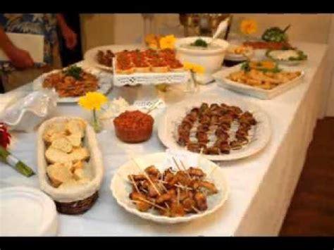 diy wedding reception food ideas diy wedding reception finger food ideas youtube