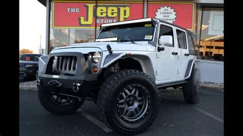 custom built wrangler jeep dealer nj youtube