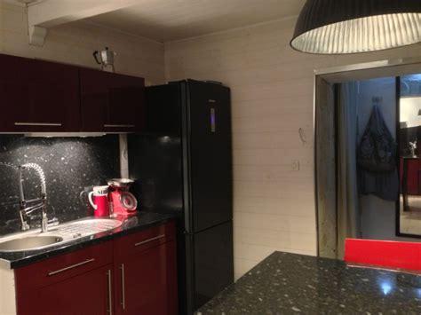 frigo de chambre davaus cuisine blanche frigo noir avec des idées