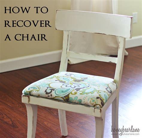 recover  chair honeybear lane