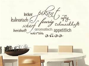 Wandtattoo Küche Bilder : guten appetit wandtattoos f r die k che kreative auswahl an verschiedenen wortwolken ~ Markanthonyermac.com Haus und Dekorationen