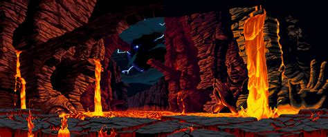 50 Animated Gifs Of Fighting Game Backgrounds «twistedsifter