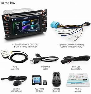 8 U0026quot  Suzuki Swift Car Dvd Player Gps Sat Nav Head Unit Stereo Radio System Rs416