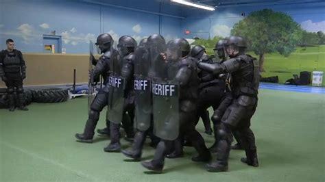 sert training mock prison riot competition