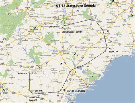 OB-17 Statesboro GA Low Altitude Flight for FSX