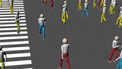 Walking Looking Computer Simulation Smartphones 1500 Don