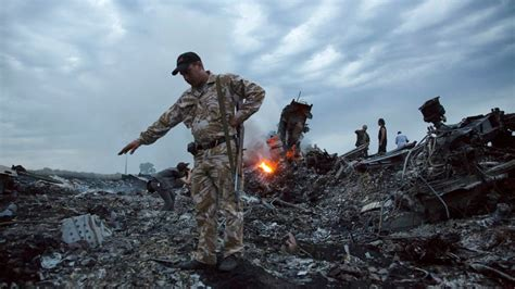Malaysia airlines flight 17 (mh17) was a scheduled passenger flight from amsterdam to kuala lumpur that was shot down on 17 july 2014 while flying over eastern ukraine. In video interview, Russian MH17 suspect denies involvement - ABC News