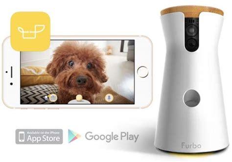 electronic doggie furbo with treat dispenser gadgetsin