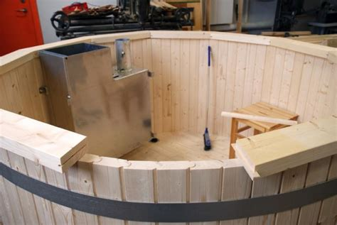 make your own tub home design ideas awesome 10 how to build a hot tub finished base build a wooden hot tub