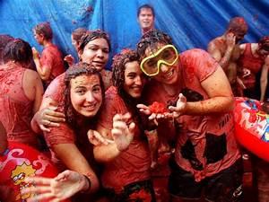La Tomatina in Bunol, Spain: The Tomato Fight Festival