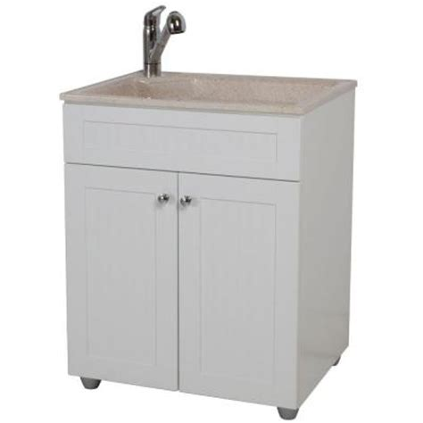 Home Depot Utility Sink Glacier Bay by Glacier Bay All In One 27 In Colorpoint Premium Laundry