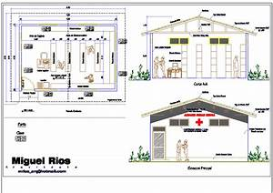 Clinic 2D DWG Plan For AutoCAD • Designs CAD
