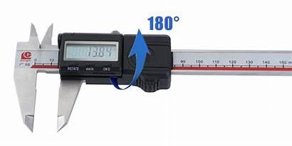 Caliper Vernier Micrometer Measuring Handed Electronic Left