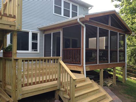 porches dayton cincinnati deck porch  outdoor