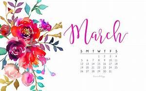 March 2017 Calendar + Tech Pretties | Dawn Nicole Designs®