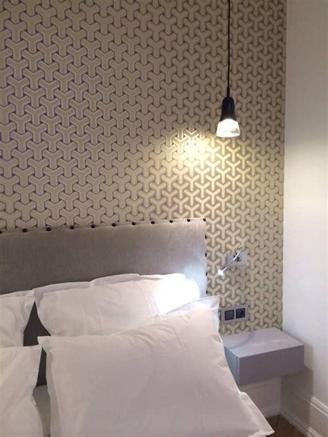 deco chambre papier peint deco decoration tendance chambre papier peint tete