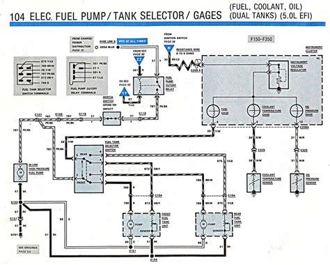 Ford Fuel Tank Selector Valve Wiring Diagram by Ford Fuel Tank Selector Switch Wiring Diagram Repair Manual
