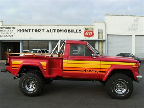 jeep honcho stepside 1980 jeep j10 honcho archive international full size