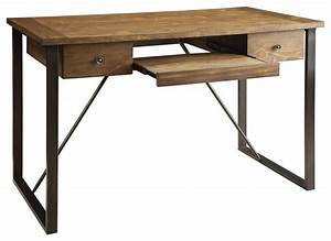 Industrial Computer Desk Rustic Desks And Hutches By