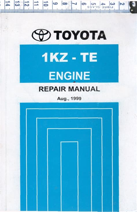 toyota kz te diesel engine repair workshop manual