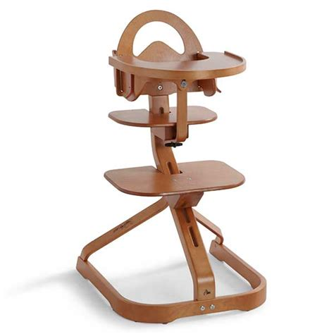 Svan Signet Complete High Chair Mahogany by Svan Signet Complete High Chair With Removable Tray Svan