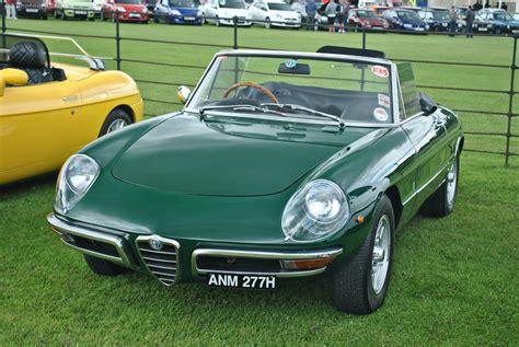Alfa Romeo Spider Classic Cars Convertible Vert Green