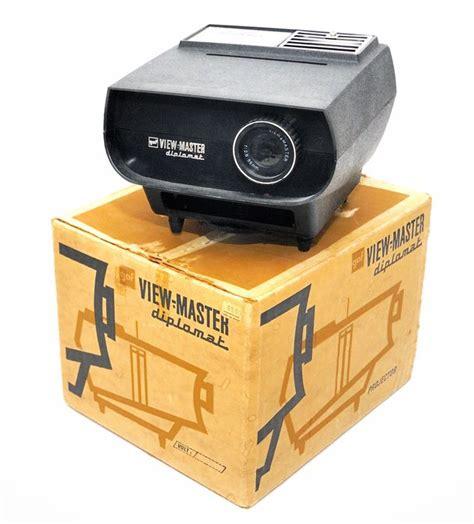 view master diplomat projector with original box manual