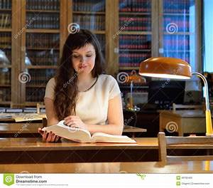 In The Library Stock Photo - Image: 49782400