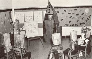 Schoolkids learning about Space Exploration, 1960s ...