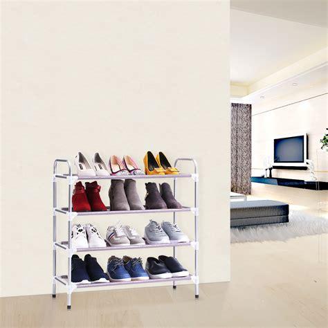 Closet Shoe Racks by Shoe Rack Tower Closet Organizer Cabinet Shelf Holder Free