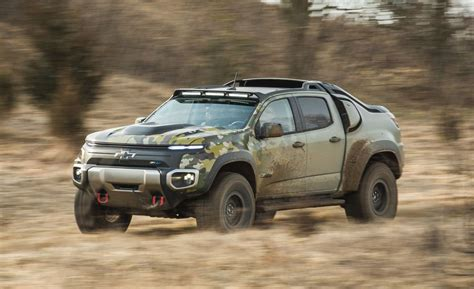 Chevrolet Colorado Zh2 Prototype First Ride  Review Car